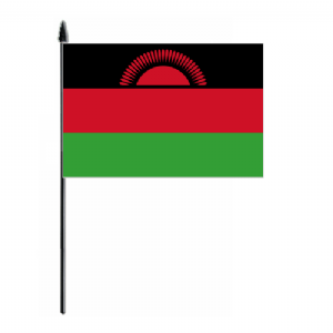 Malawi Country Hand Flag - Medium.